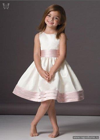 Нарядное платье для маленькой принцессы выкройка