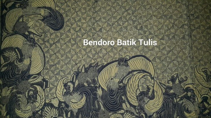Bendoro batik tulis desain by mr.aris s yosodhiningrat