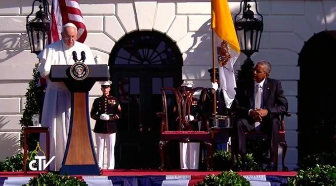 TEXTO y VIDEO: Discurso del Papa Francisco en visita a la Casa Blanca en Washington DC 23/09/2015 - 08:58 am .- El discurso completo del Papa Francisco pronunció en la ceremonia de bienvenida en la Casa Blanca.