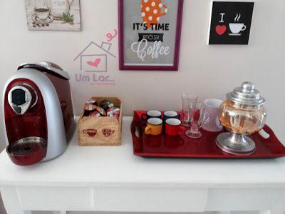 Um lar...: O cantinho do café!