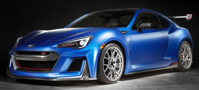 The Subaru BRZ STI Performance Concept Nears Perfection Without A Turbo