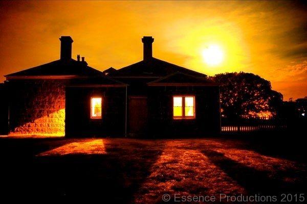 essenceproductions.com.au #WerribeePark #historicfarm #nighttheatre at the homestead.