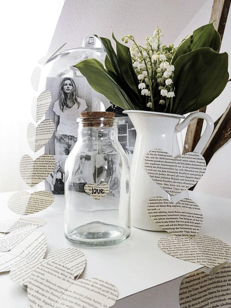 153 besten ideen mit gl sern bilder auf pinterest mason jars diy dekoration und bastelarbeiten. Black Bedroom Furniture Sets. Home Design Ideas