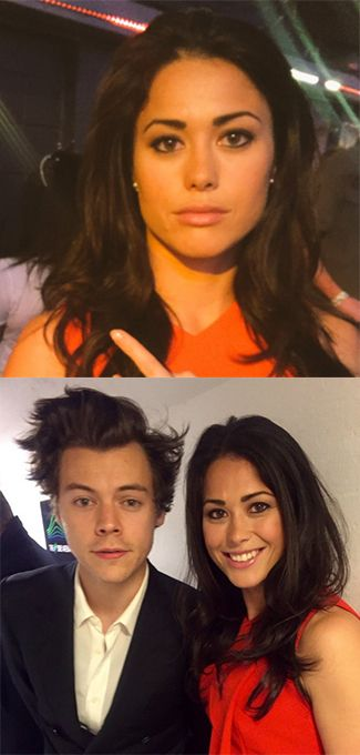 I'm A Celebrity's Sam Quek has been labelled 'disrespectful' for taking this photo with Harry Styles at The X Factor...