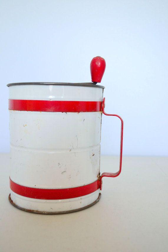 305 Best Flour Sifters Images On Pinterest Vintage