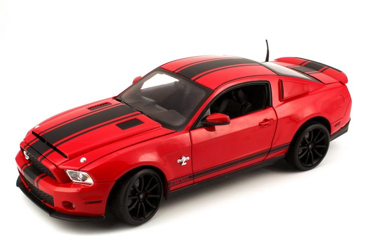 1:18  Shelby Ford Mustang GT 500 Super Snake (2012) rot/schwarz - Shelby Collectibles