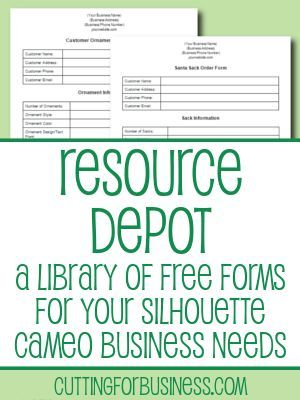 51627a2e1b5 Resource Depot - Forms and Instruction sets for your business