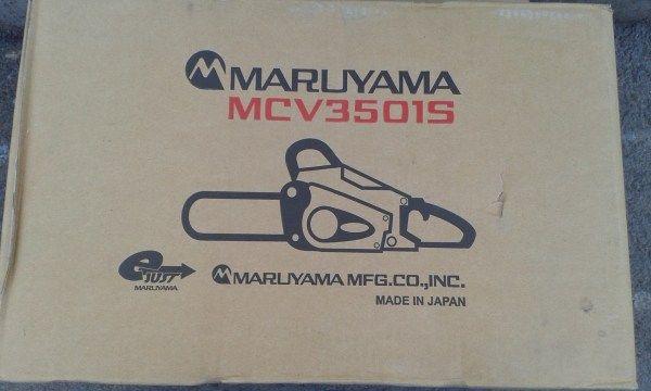 Motoferastrau Maruyama MCV3501S fabricat din Japonia.