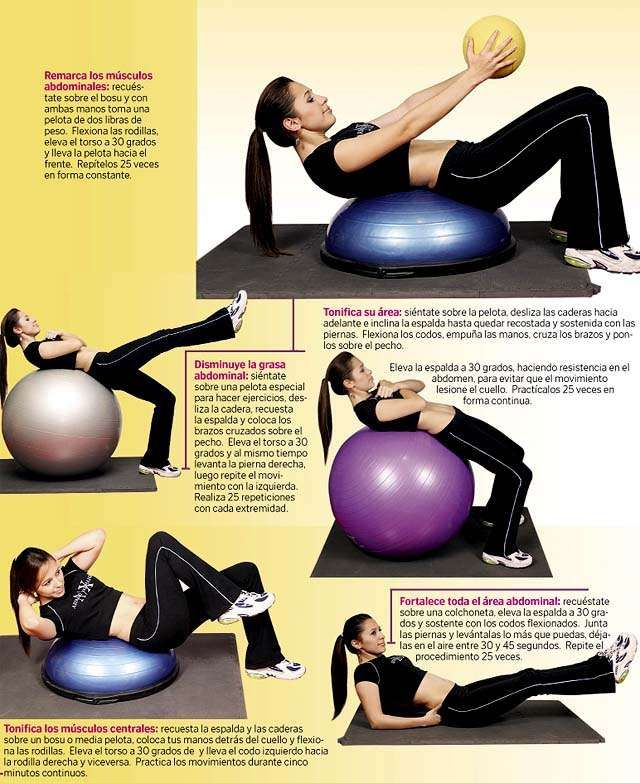 Balance Ball For Weight Loss: 1000+ Images About BOSU Ball Exercises On Pinterest