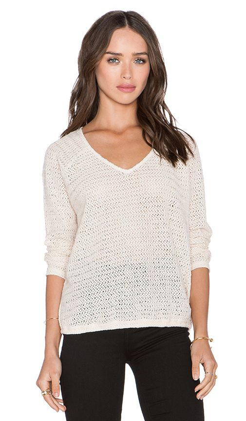 Sanctuary Beach Sweater in Wicker | REVOLVE