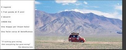Big Mamas, 4 ragazze e 14mila chilometri in Panda, direzione Ulaan-Bator: una folle corsa di beneficienza, in tempo reale conGeomat