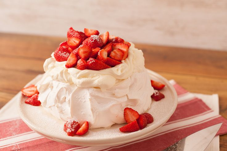 Strawberry Pavolva the perfect Summer dessert from www.ilovecooking.ie