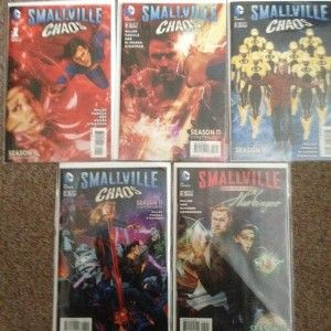 Smallville continues in comic form! Season 11: Chaos!