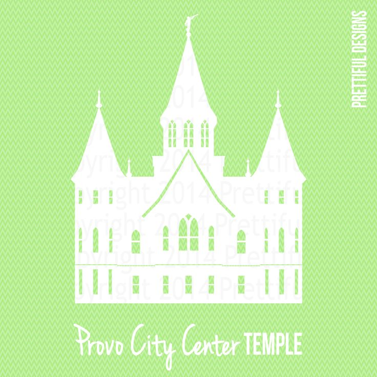 provo city center temple utah lds mormon clip art png eps svg vector by ilovetoseethetemple on