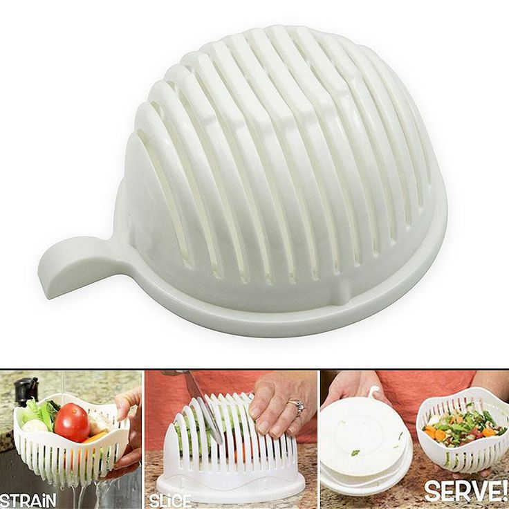 60-Second Salad Maker / Salad Cutter Bowl