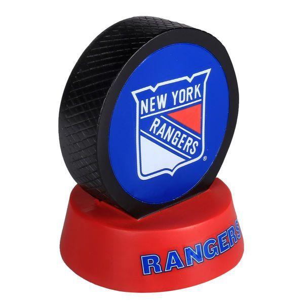 New York Rangers Hockey Puck Display Paperweight - $14.99