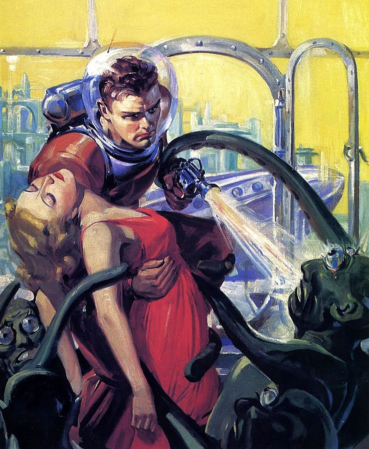 146 Best Images About Vintage Sci Fi Pictures On Pinterest: 202 Best Images About SF: Classic Sci-Fi On Pinterest