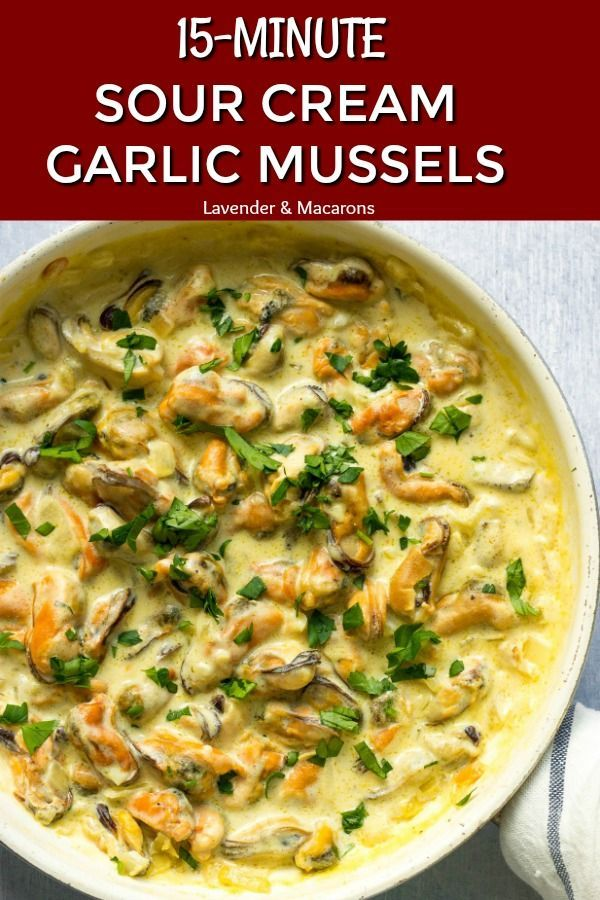 You Ve Never Tried Mussels Like This Before If You Re Looking For Healthy Dinner Recipes Try My Garlic Mu Mussel Meat Recipe Mussels Recipe Easy Pasta Dinner