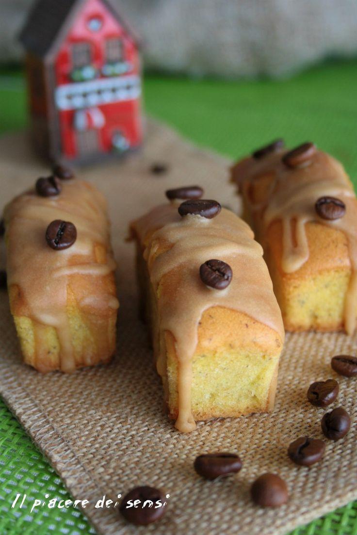 Plumcakes di grano saraceno con glassa al caffè - Il piacere dei sensi  #granosaraceno #caffè #colazione #breakfast #homemade #plumcake