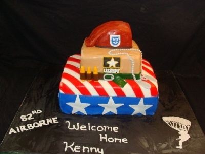 Welcome Home Son By JJsGirl on CakeCentral.com