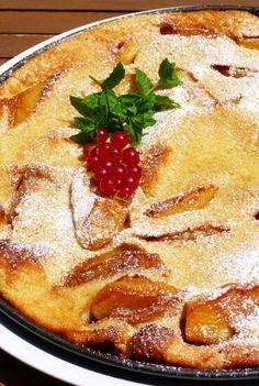 Big apple pancake - almás palacsinta