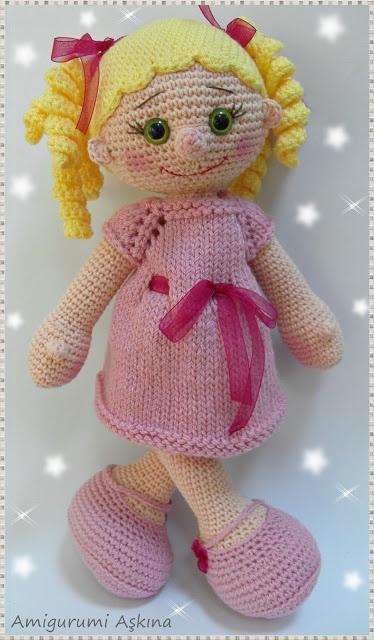 Amigurumi Aşkına Örgü Oyuncaklarım: Bebekler-Doll