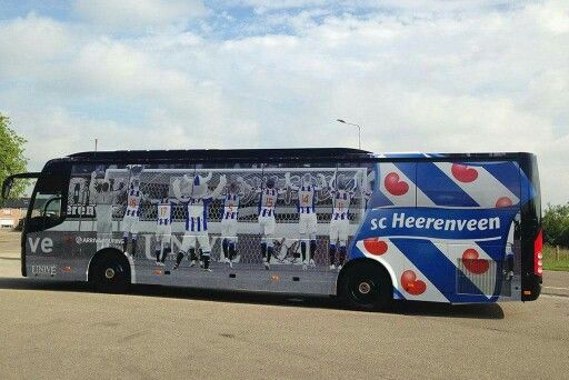 Nieuwe spelersbus sc heerenveen 2015-2016
