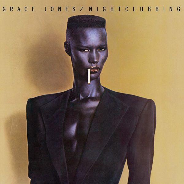 Grace Jones Nightclubbing album cover art