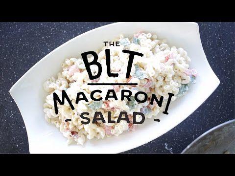 Yum... BLT Macaroni Salad - http://fooddonegood.com/comfort/blt-macaroni-salad/