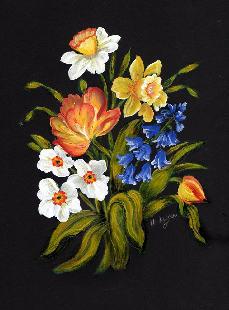 Spring. Painted by Hazel Lynn.