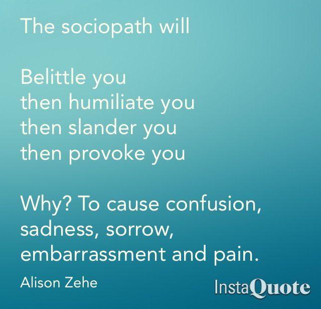 Bipolar narcissistic sociopath