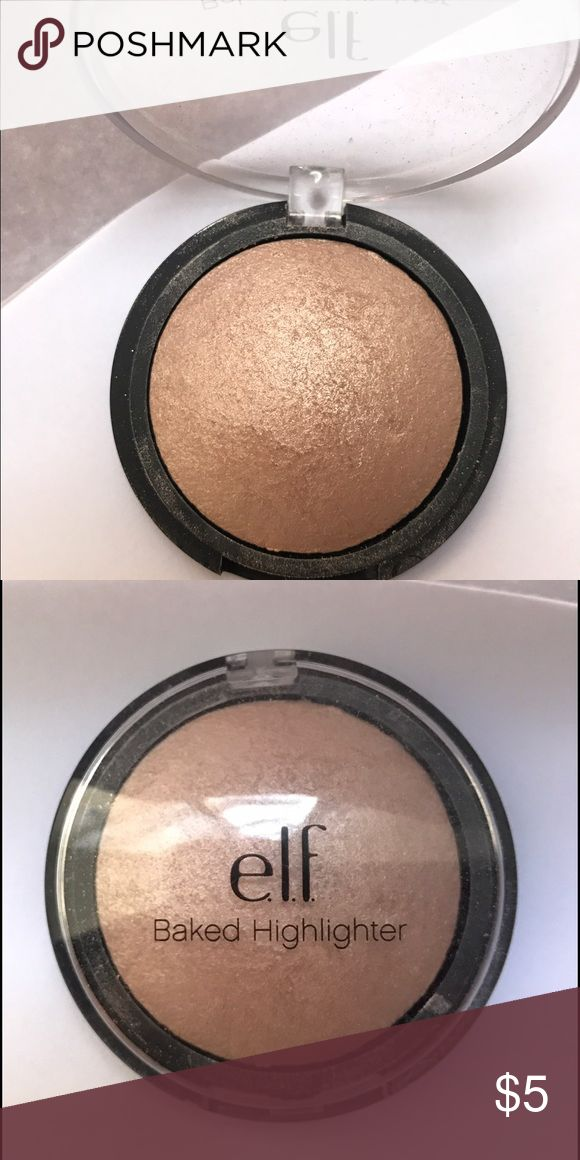 ELF highlighter Only used once Makeup Luminizer