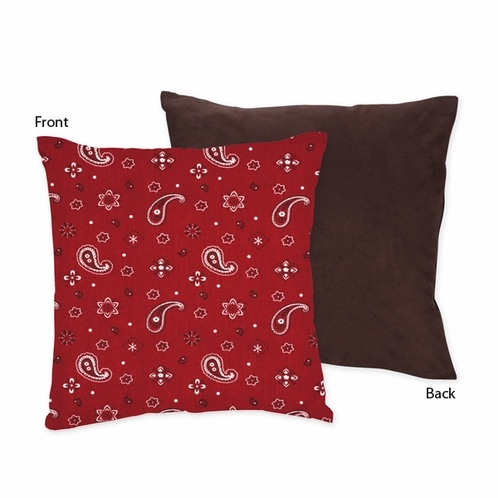 Wild West Decorative Accent Throw Pillow by JoJo Designs - Click to enlarge
