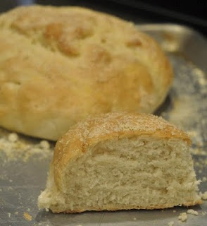 french peasant bread- I love this stuff!  So good for fresh BLT's
