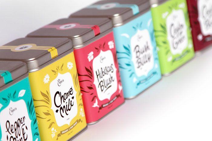 Emporio Tea. Designed by Inject Design, Wellington, New Zealand