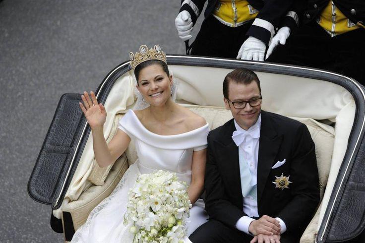 matrimonio principessa Vittoria di Svezia e principe Daniel
