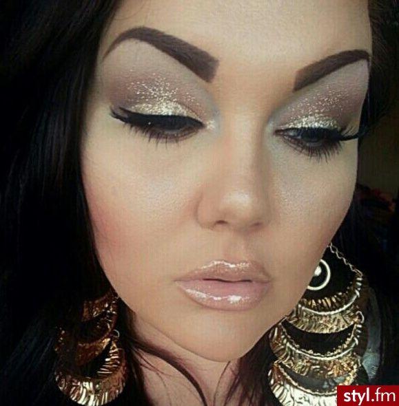 gorgeous #make up #sparkle #glitter