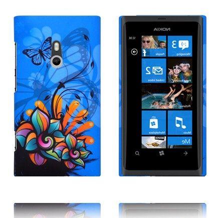 Valentine (Blå Himmel - Art Blomst) Nokia Lumia 800 Deksel