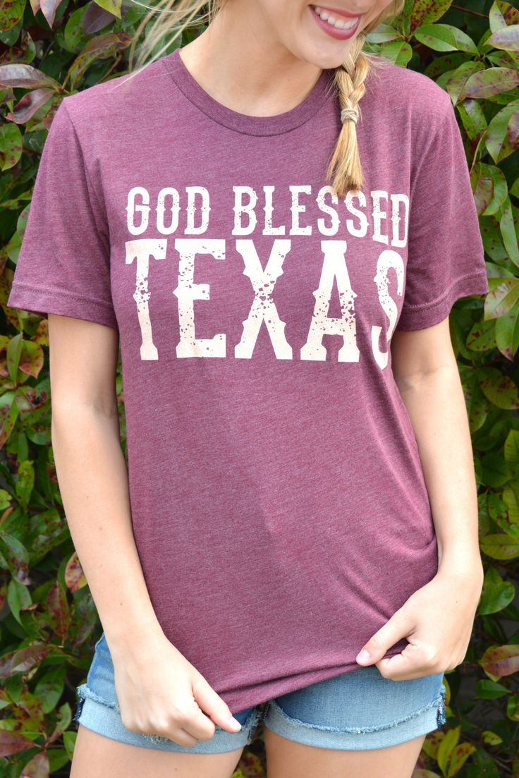 God Bless Texas Tee