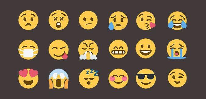 Large Printable Emoji Images – People