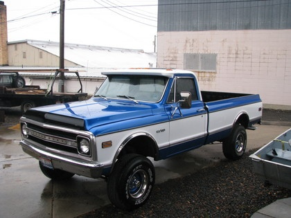 1967-72 Chevy K-10. Cant beat an old Chevy truck!
