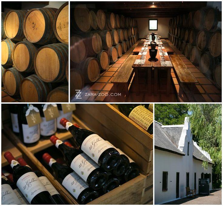 Wine Tasting at Spier, Stellenbosch, Cape Town wine cellars.