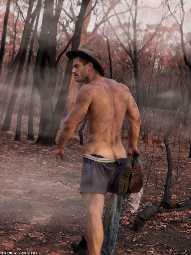 Excellent paul freeman outback nudes join