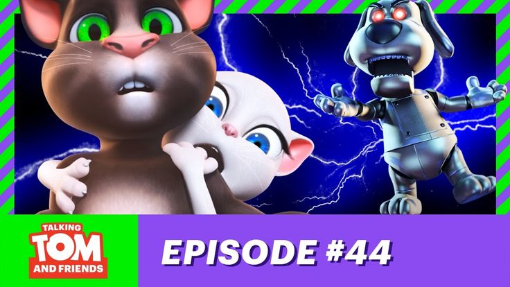Talking Tom and Friends Ep 44 - Funny Robot Galileo