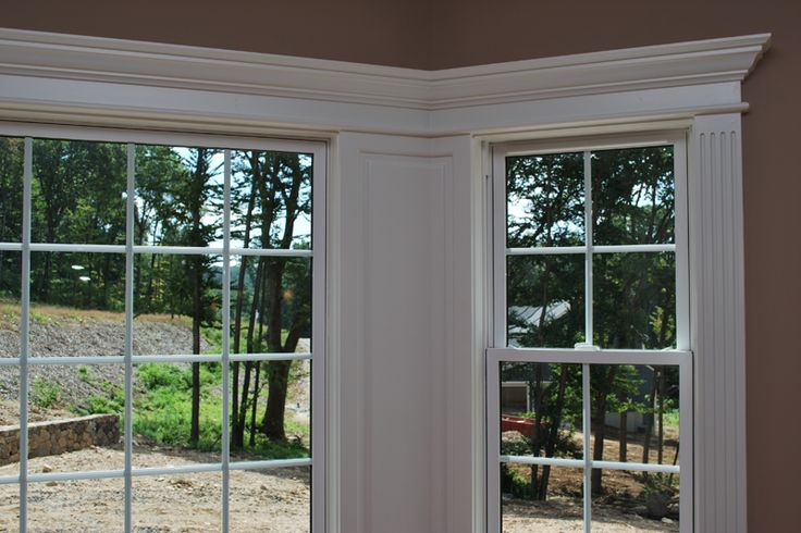 ... And Fluted Pilaster Trim