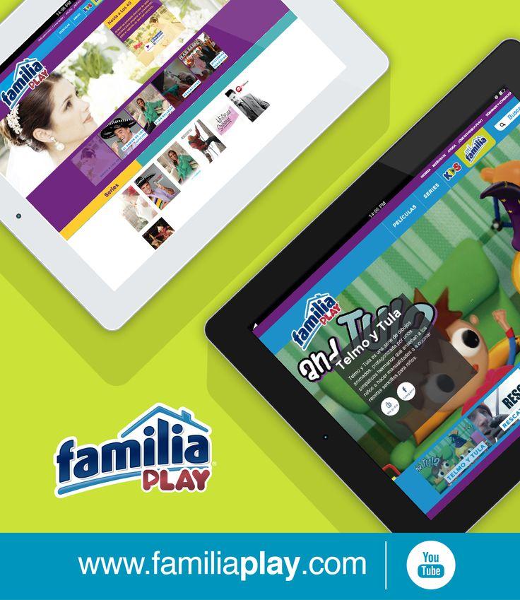 ¡Familia® trae para ti la nueva forma de ver televisión en Familia! Ahora puedes escoger los programas o películas que te gusten ingresando desde tu computador, smartphone, tableta o Smart TV ¡Es gratis!