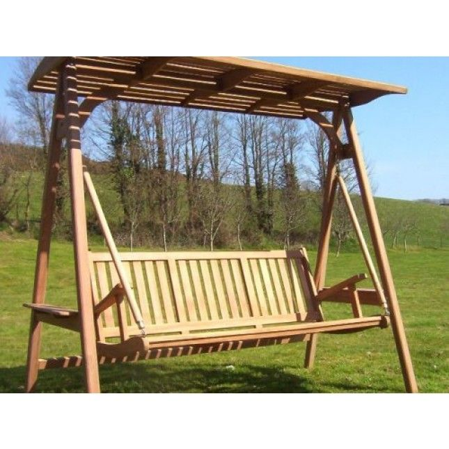 This Beautiful, Solid And Sustainable Teak Swing Seat Will Be A Fabulous  Addition To Your Selection Of Garden Furniture. It Is Manufactured In  Indonesia ...