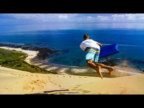 Sandboarding Supertramp Style - Play On in New Zealand! - YouTube | Devinsupertramp
