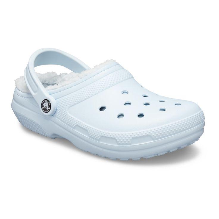 Crocs classic fuzz lined adult clogs in 2020 crocs