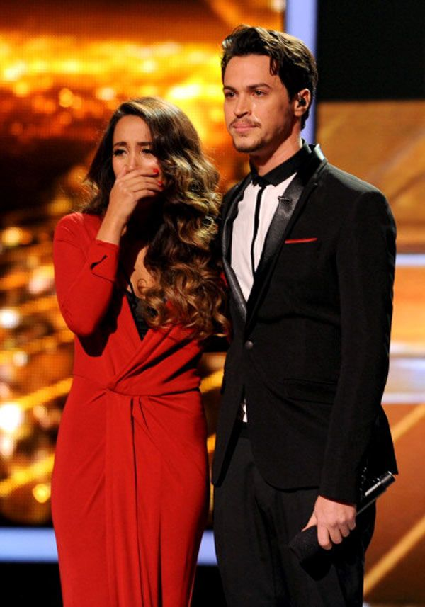Alex & Sierra: When Sierra was crying and Alex just held her... perfection.